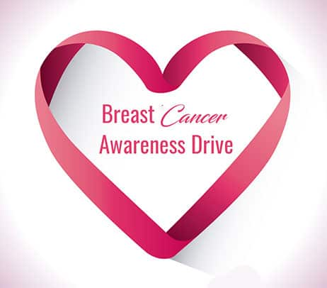 OCTOBER BREAST CANCER AWARENESS DRIVE